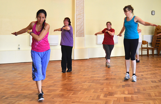 Zumba Fitness zur Gewichtsreduktion
